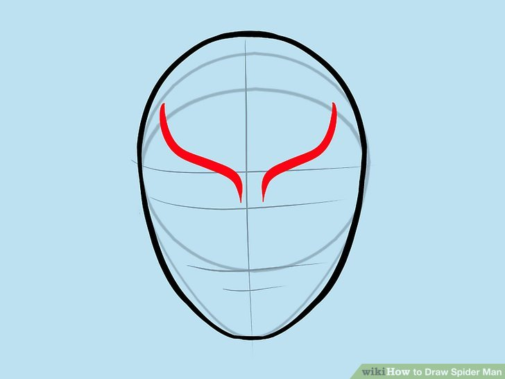 Drawn spider spiderman Draw Man Ways Draw wikiHow