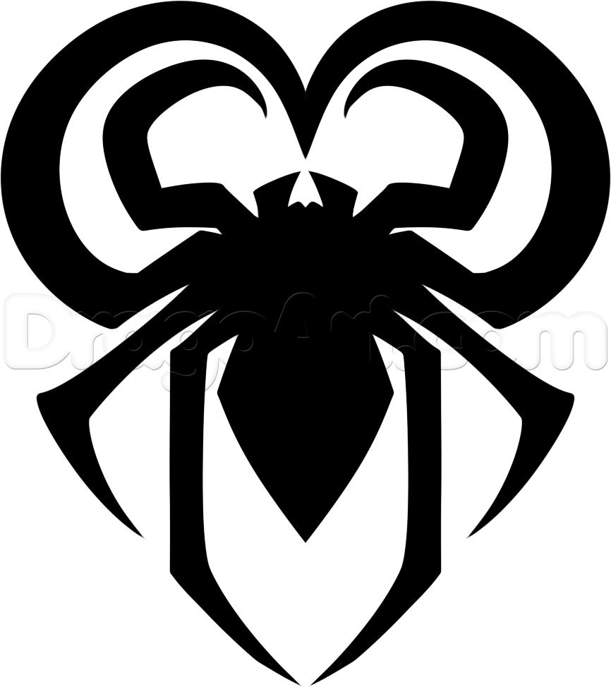 Drawn spider spiderman Draw by a  Man