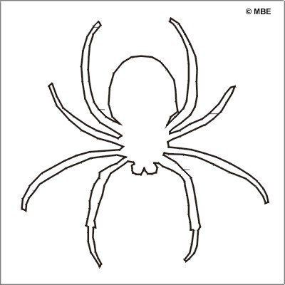Drawn spider template Halloween! Pinterest Happy Stencils Templates