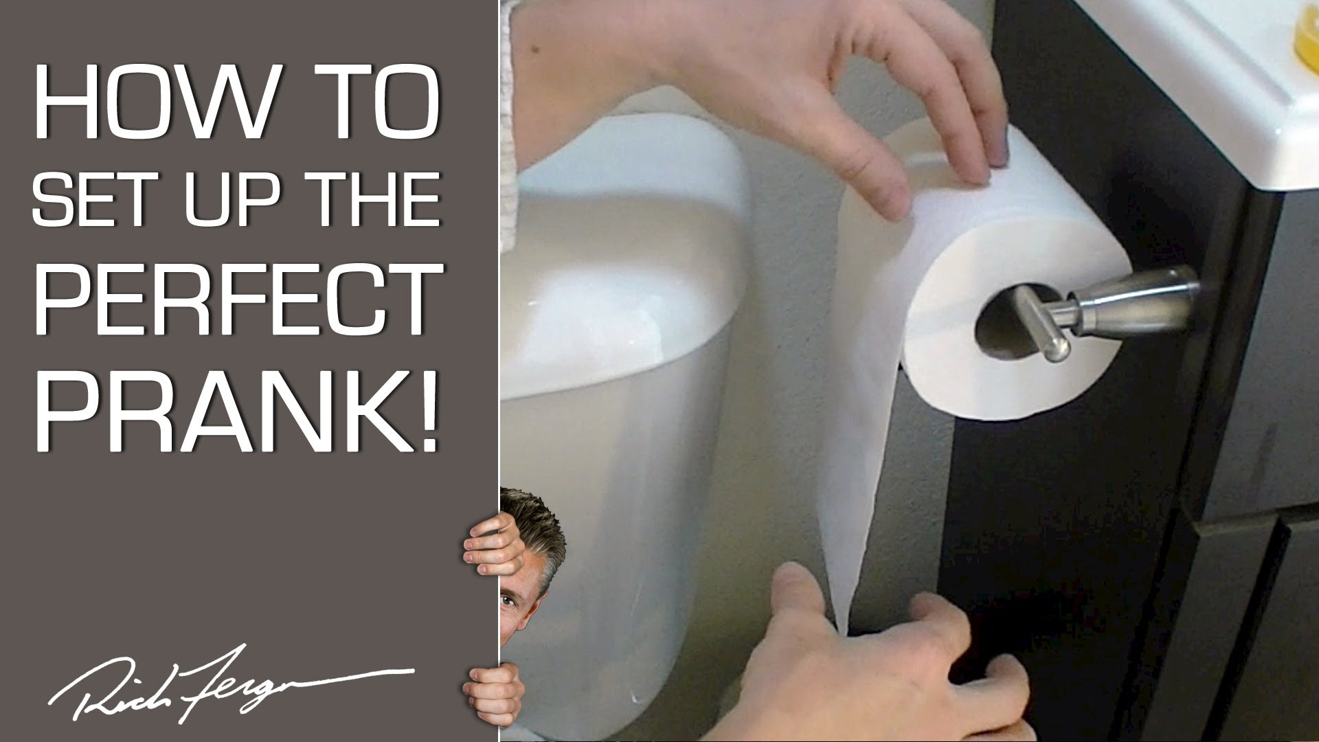 Drawn spider toilet paper To How THE PRANK! PERFECT