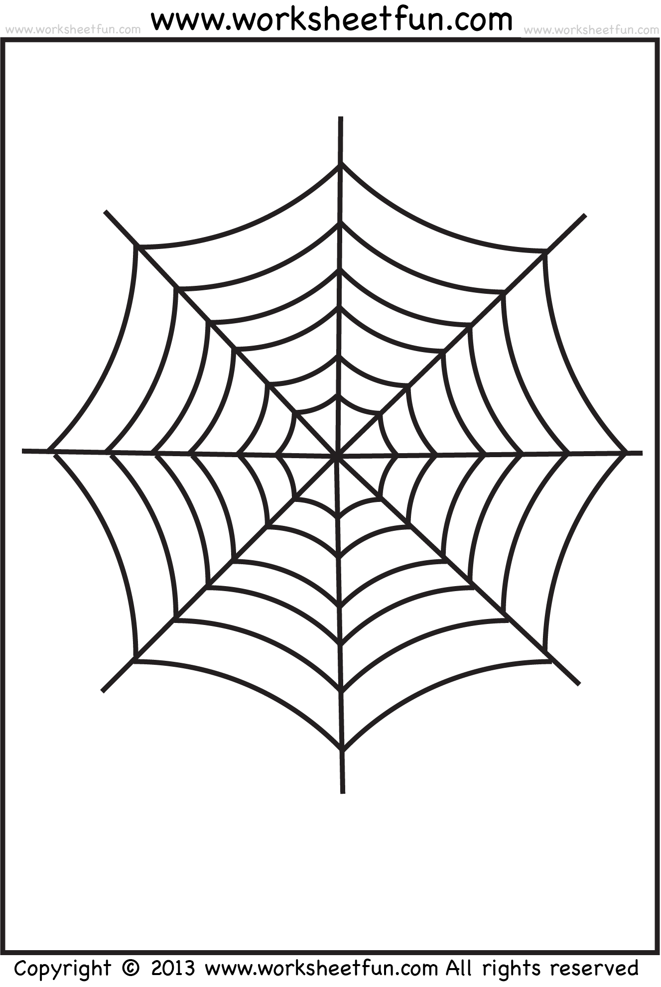 Drawn spider tracing FREE Web Halloween Spider /