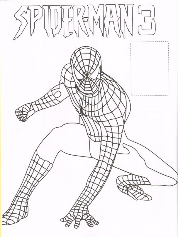 Drawn spider tracing Org Stickers Coloring 346 :