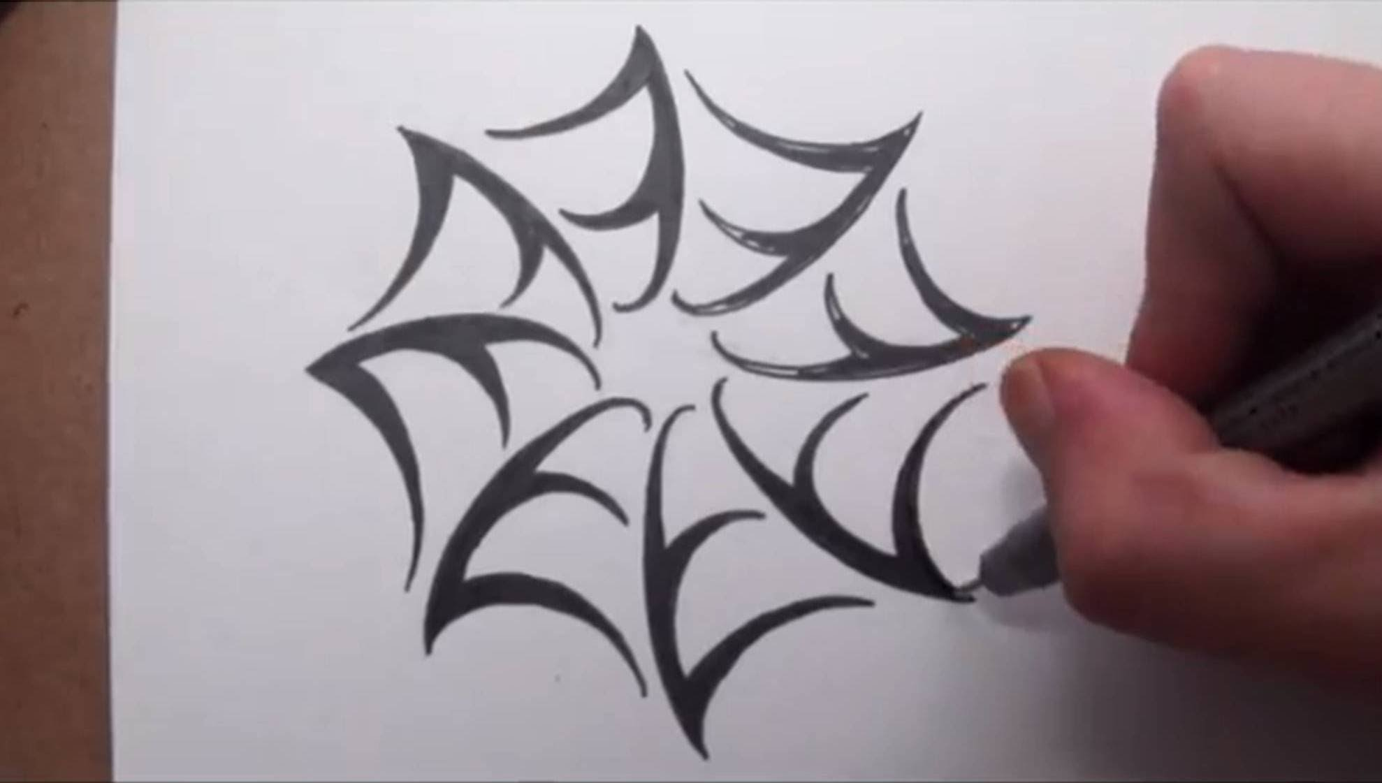 Drawn spider tribal music Draw Spider YouTube To Style