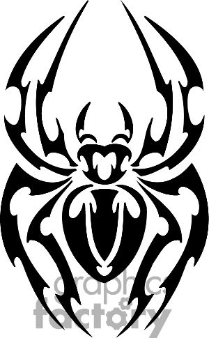 Drawn spider tribal music Best Spiders 35 on Tribal