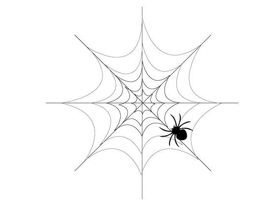 Drawn spider web Spider drawing best ideas Ways