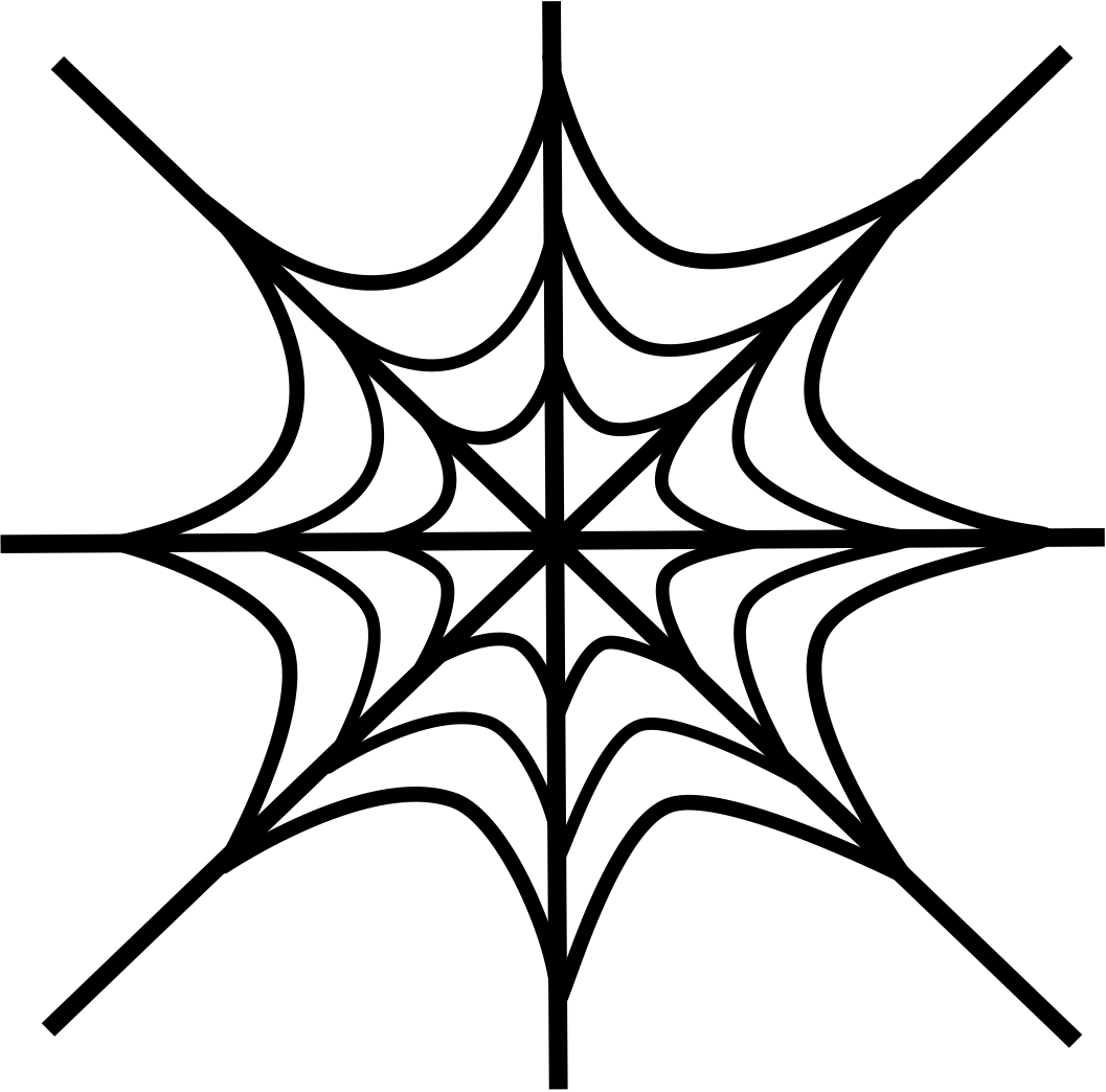 Drawn spider web Images Web Art Web Drawing