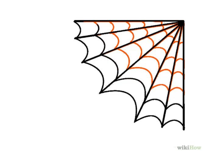 Drawn spider web On ideas a Pinterest Spider