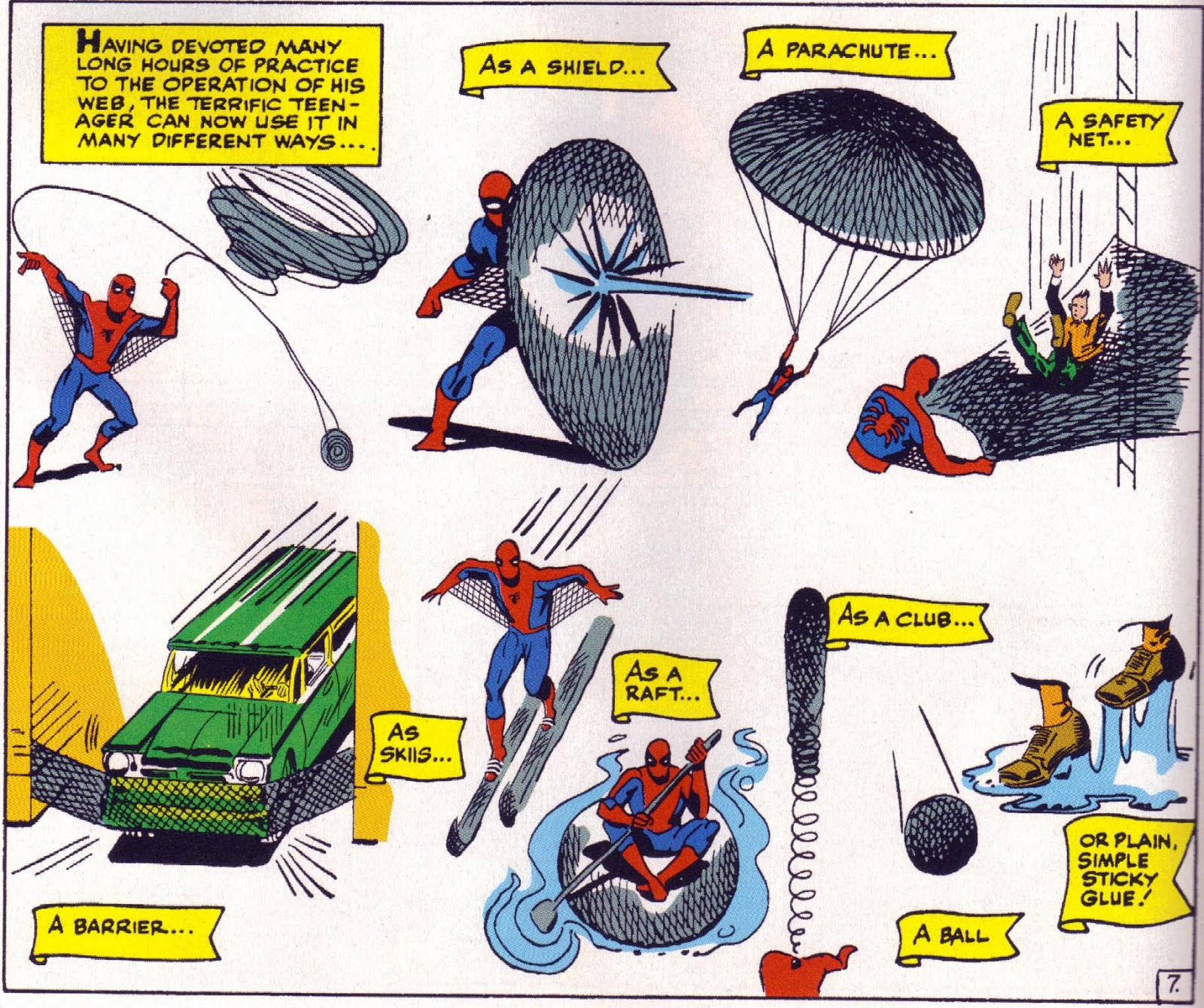 Drawn spider web acid Weapons: on Shooters  Crisis