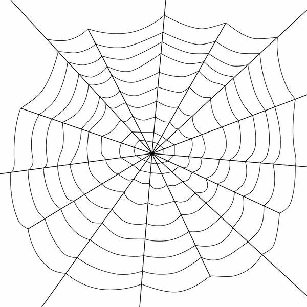 Drawn spider web silhouette Free web photos 2 Rgbstock