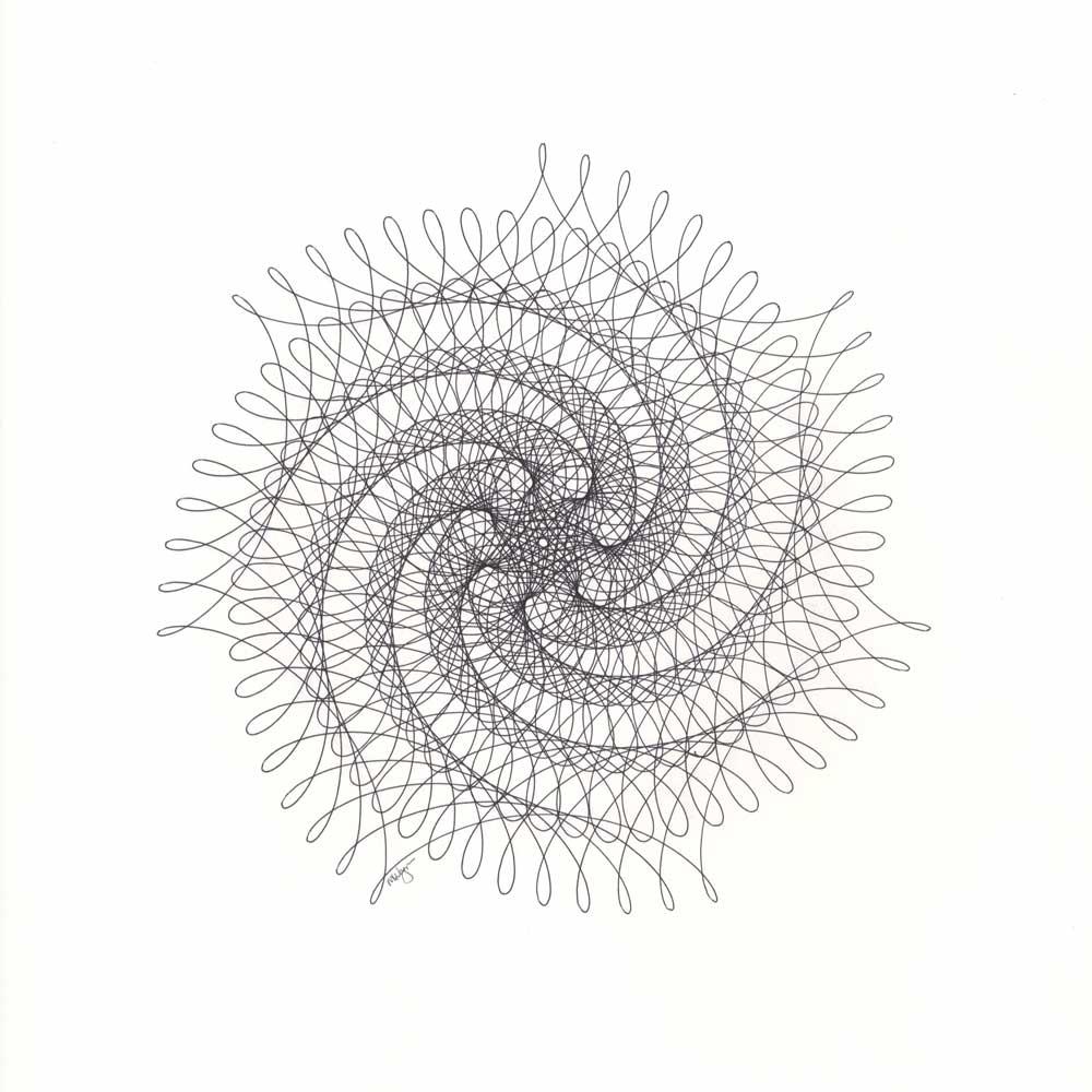 Drawn spider web spiral Spiral Drawing Web Spider Spiral