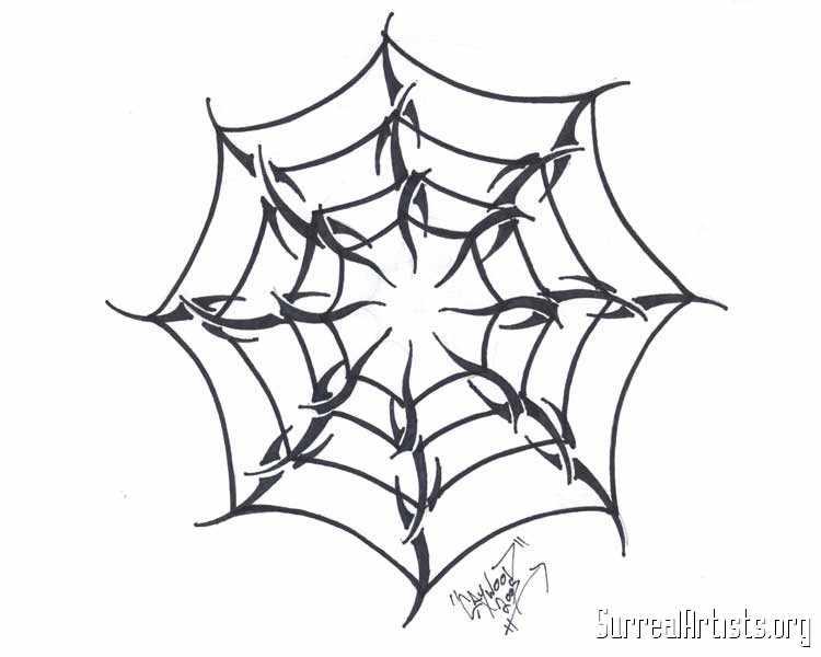 Drawn spider web tribal Web Tattoo TANGLED Images