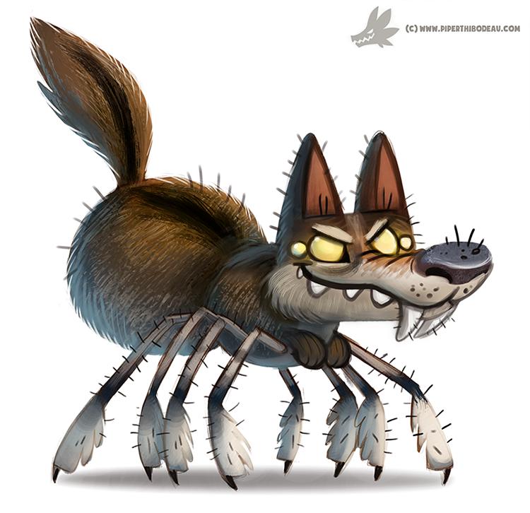 Drawn spider wolf spider Wolf by on by Spider
