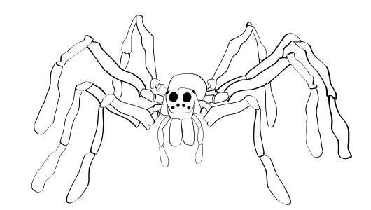 Drawn spider wolf spider Drawing ALEX Spider Wolf Spider