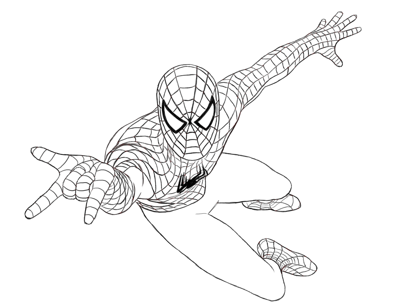 Drawn spider-man How To Spiderman Draw