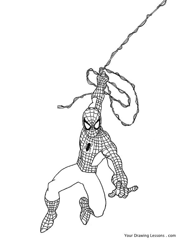 Drawn spider-man How Spider Man Your drawing