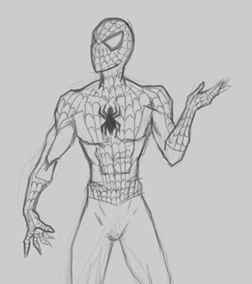 Drawn spider strong #1