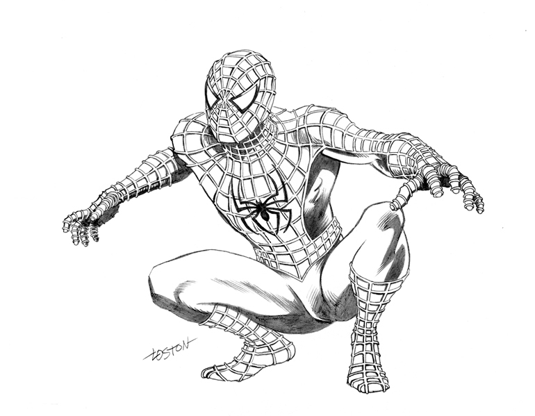 Drawn spider-man Man Design Man Spider Marvel