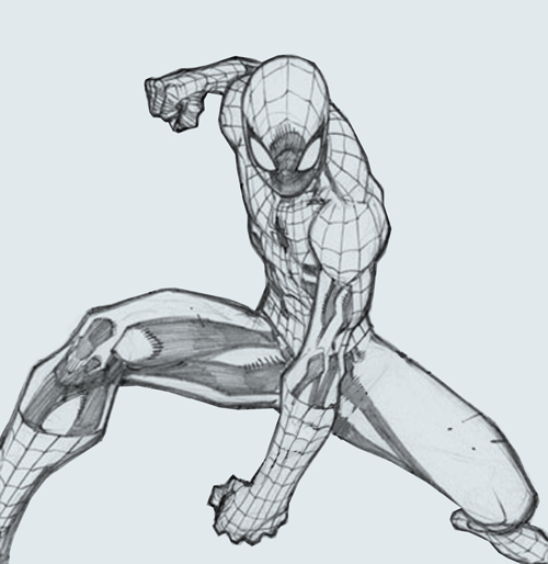 Drawn spider-man Drawing tutorial drawing  Digital