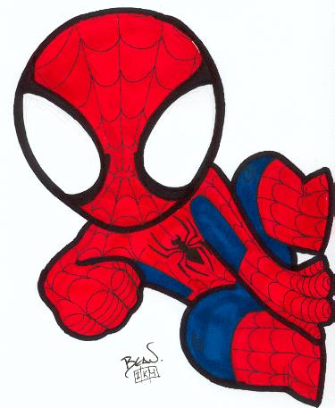 Drawn spiderman funny NextInvitation Templates Man baby Man