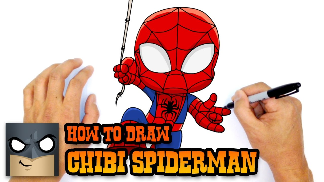 Drawn thor Drawing Spiderman Draw to How Man Man