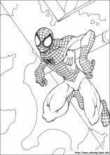 Drawn spider-man coloring book #10