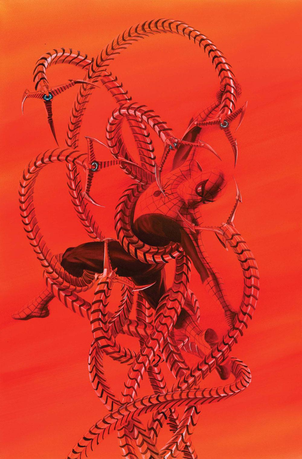 Drawn spiderman fighting Wikia  Wiki Spider Otto