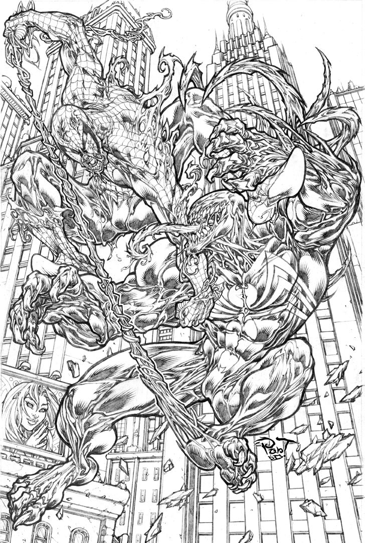 Drawn spiderman fighting On pant spidey 196 images