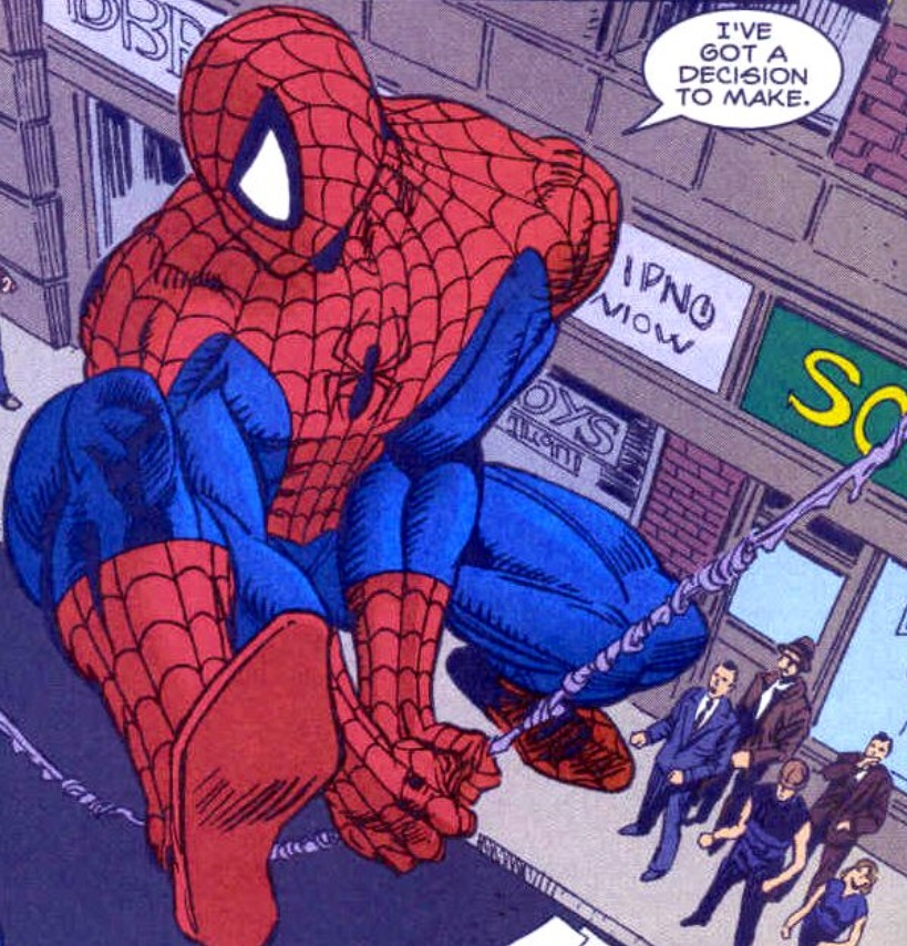 Drawn spiderman lady #229 features explains Walked for