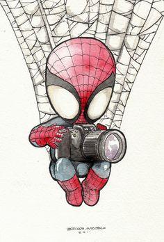 Drawn spider-man sketch Eri Nai @deviantART related by