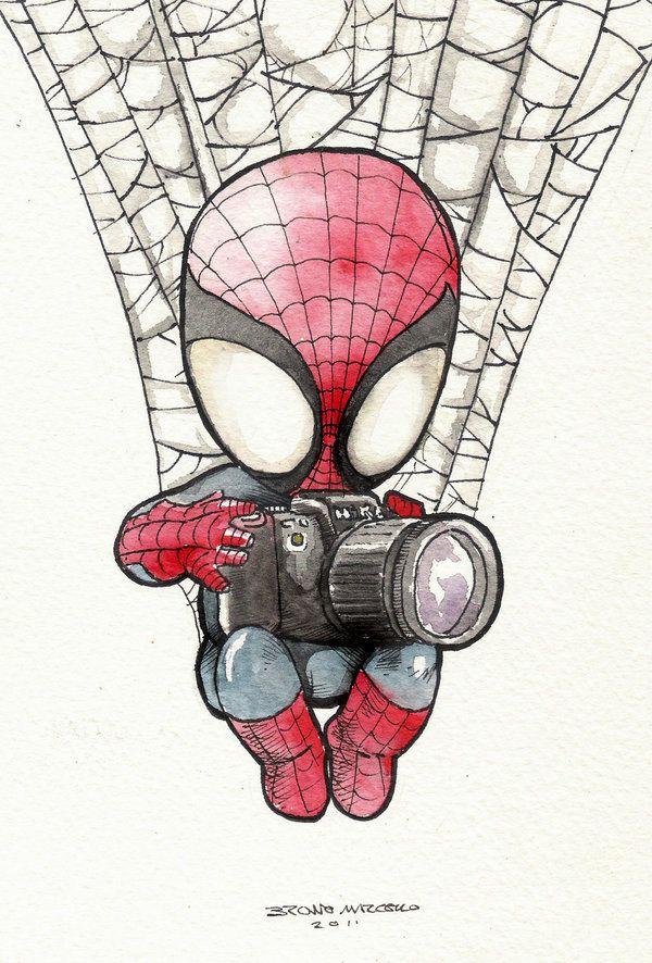 Drawn spiderman mini Pinterest best images Man on