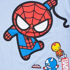 Drawn spiderman mini How How  Chibi draw