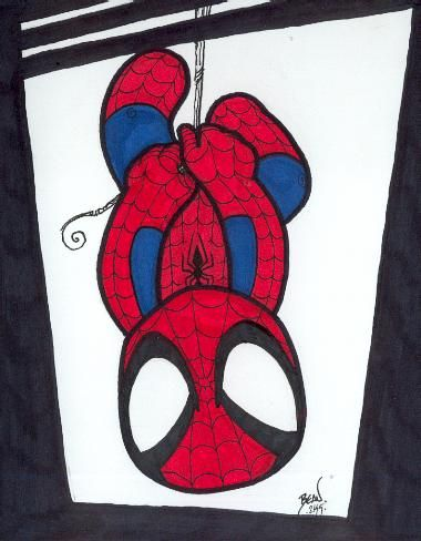 Drawn spiderman mini On Drawing  211 images
