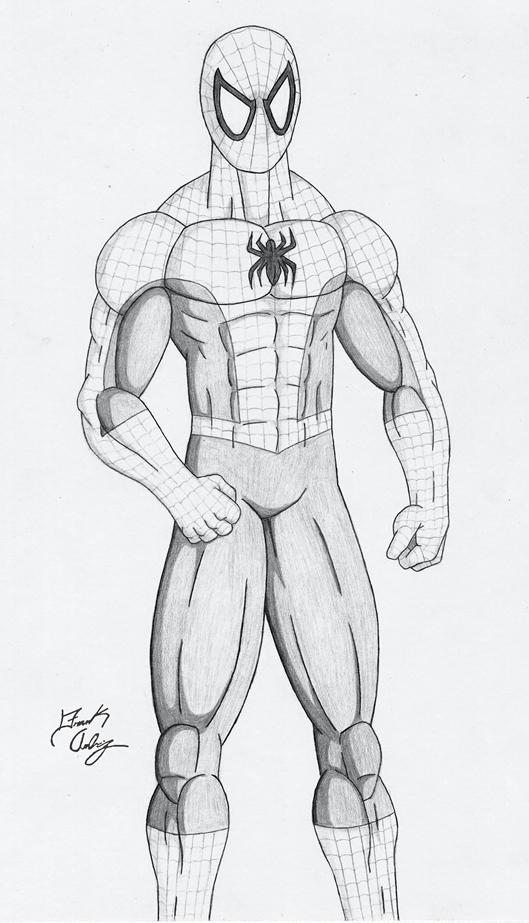 Drawn spiderman pencil sketch Man man dsx100 DeviantArt Spider