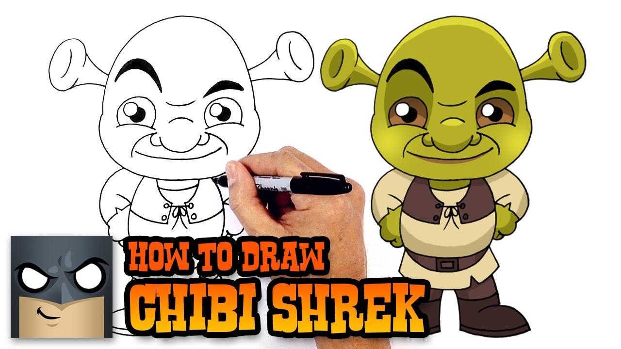 Drawn spiderman shrek To Draw Shrek Draw Shrek