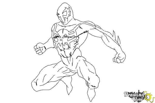 Drawn spider-man sketch To Draw 10 2099 How