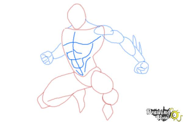 Drawn spiderman step by step DrawingNow to to Draw Spiderman