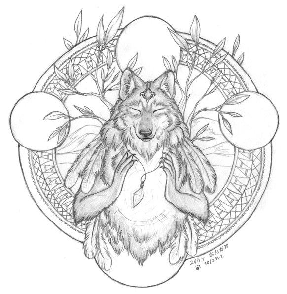 Drawn spirit #8