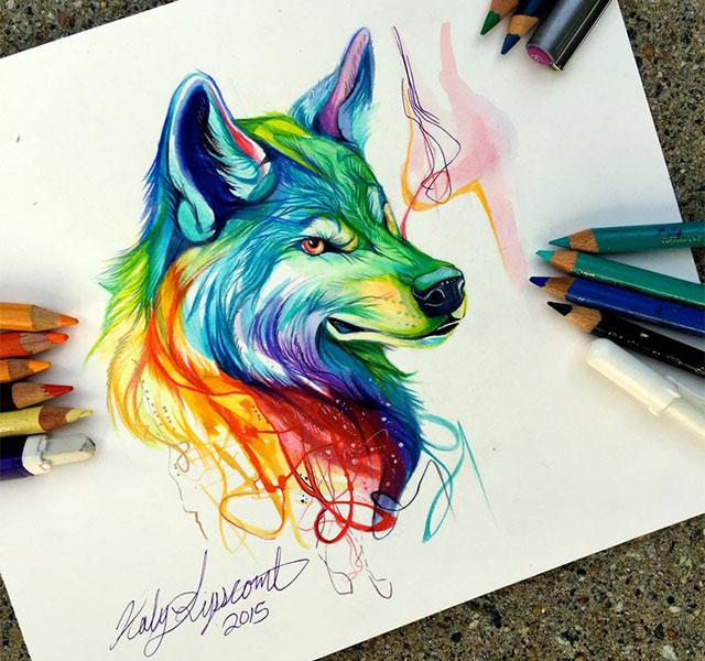 Drawn spirit #10