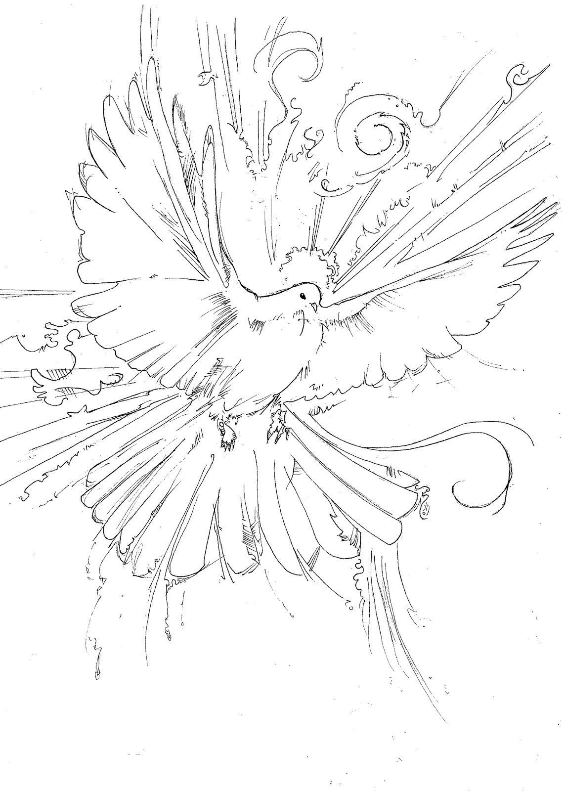 Drawn spirit #3