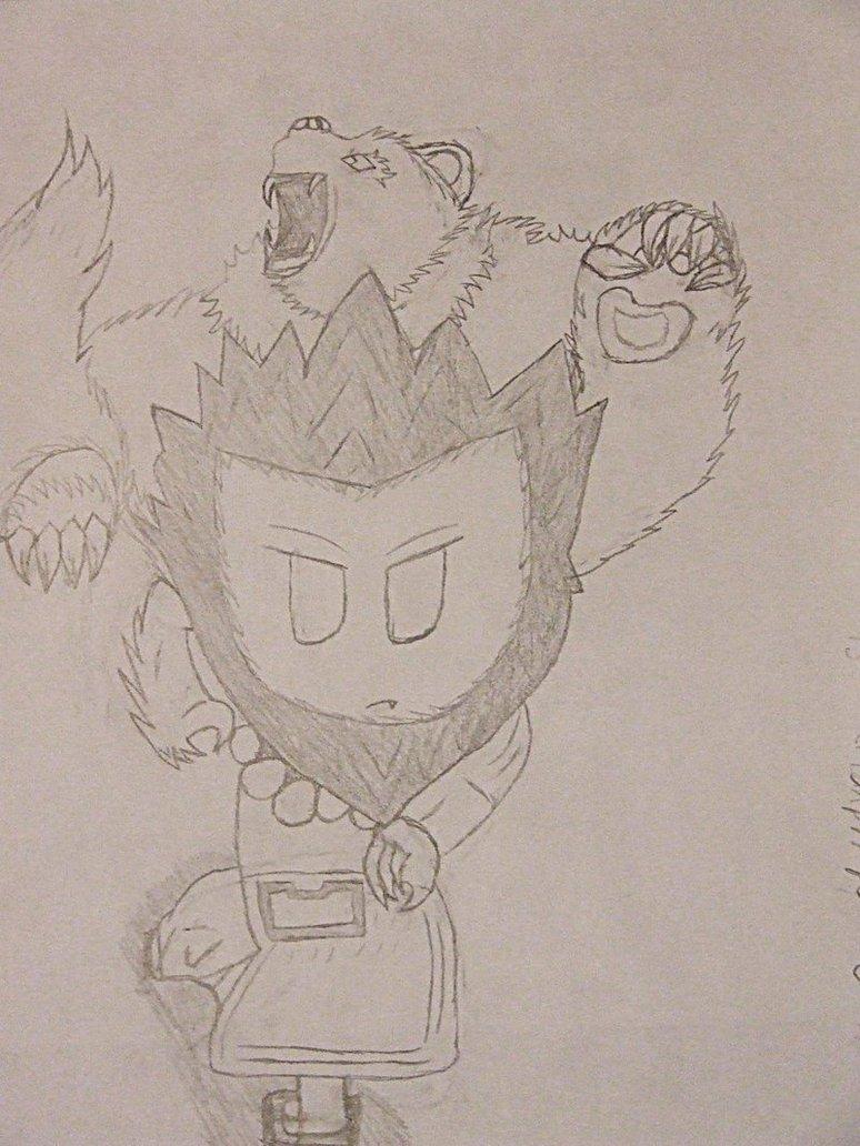 Drawn spirit #4