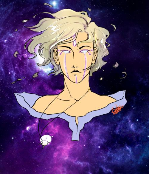 Drawn spirit celestial And Tumblr AU moon sun