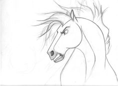 Drawn spirit easy Horses Drawing Pinterest Google Spirit
