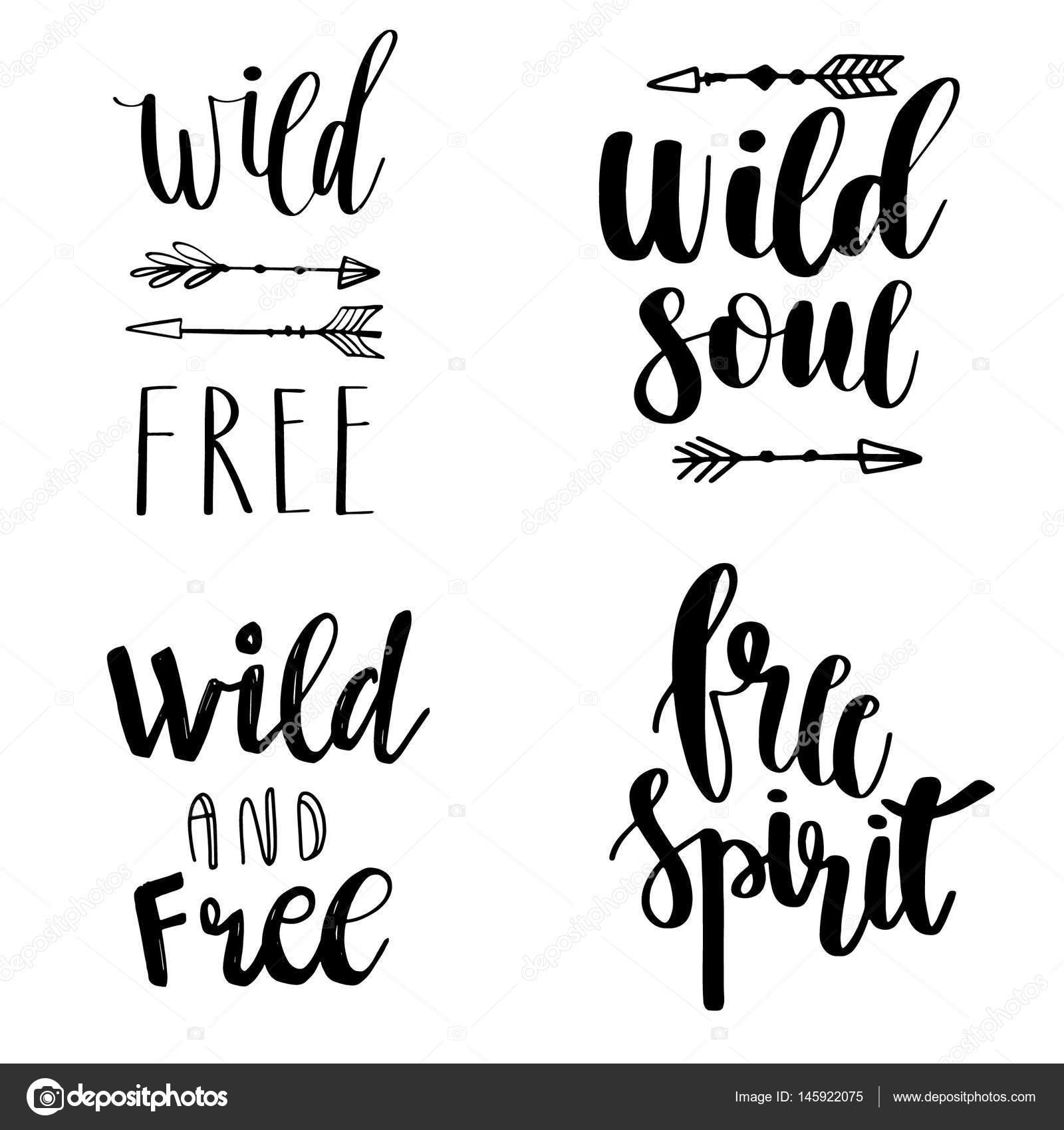 Drawn spirit free spirit And Style Vector  elements