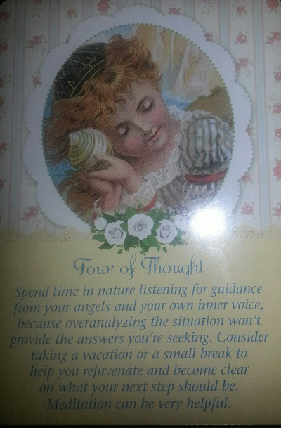 Drawn spirit guardian Card from Guardian from Today's