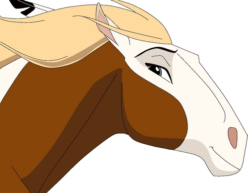 Drawn spirit mustang horse HD drawing Of Cimarron