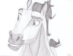 Drawn spirit sketch To by Horse Spirit Drawing