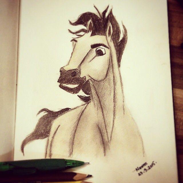 Drawn spirit sketch Эскиз #hobbies on Spirit #pencil