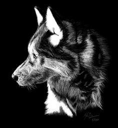 Drawn spirit smokey Step how wolf spirit art