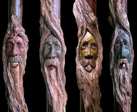 Drawn spirit twisted Spiral Spirits Wood & Twisted