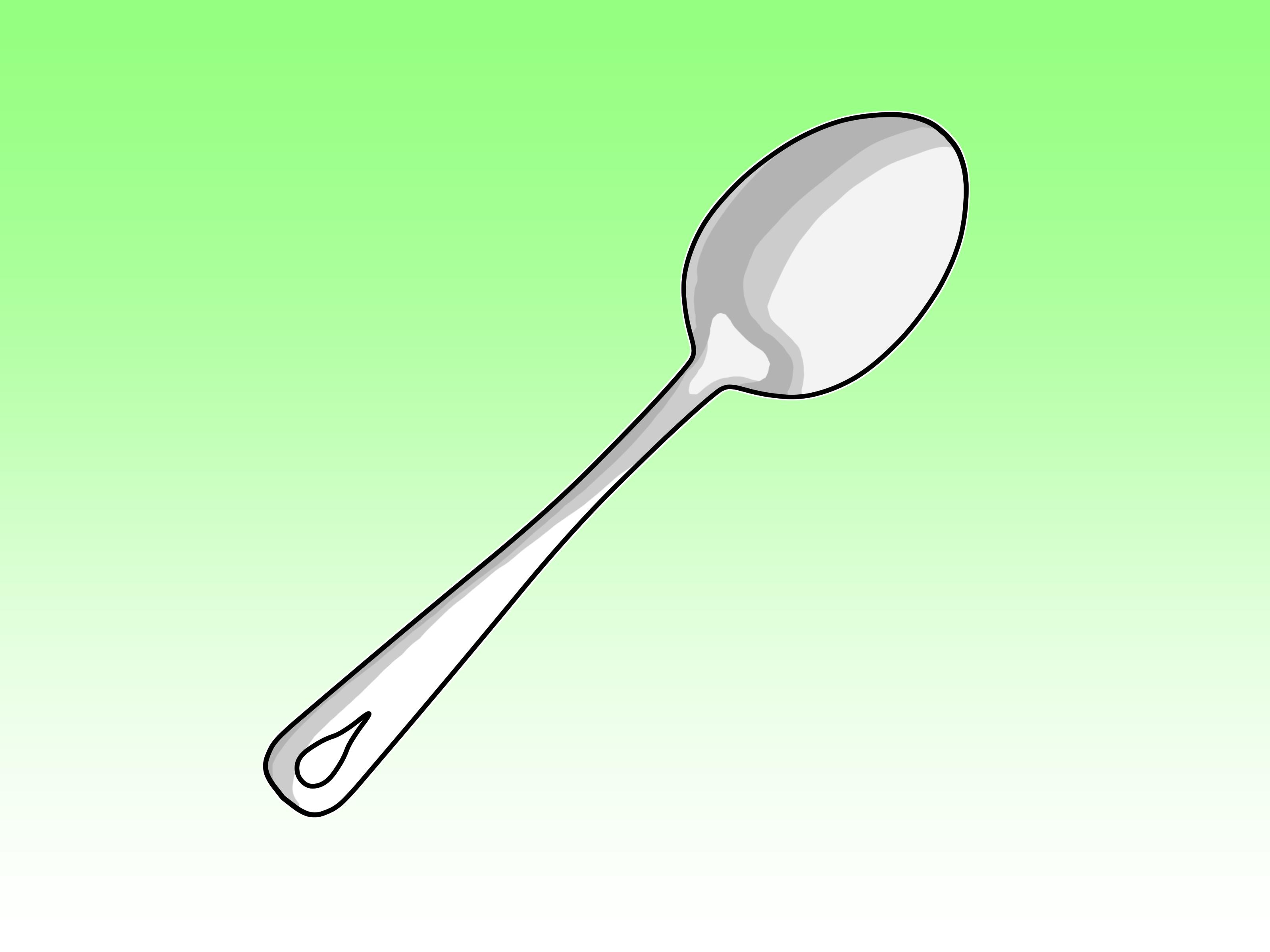 Drawn spoon  to Spoon: a Draw
